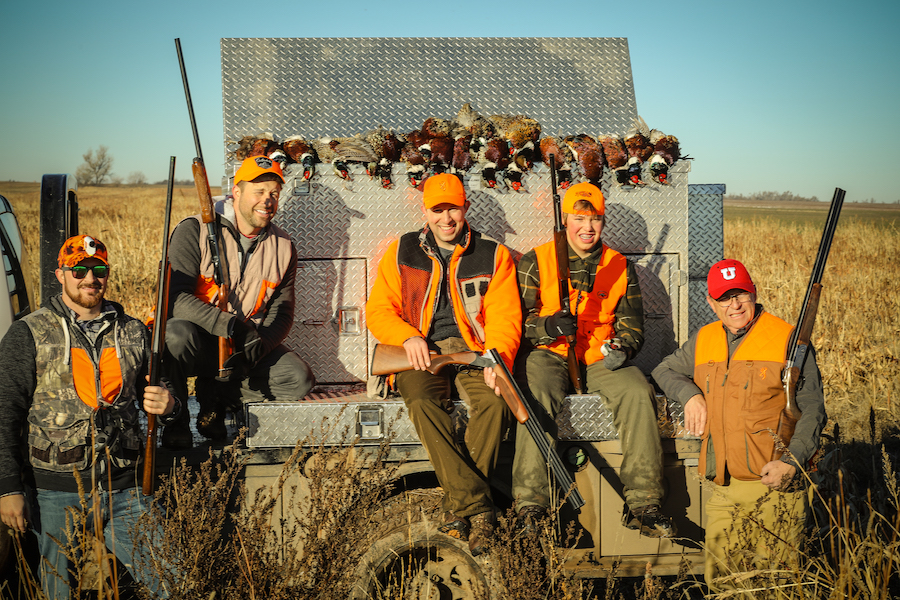 Group Pheasant Hunts